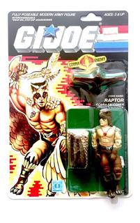 Gi Joe Cobra Raptor 1987 Moc Hasbro Vintage Nuevo