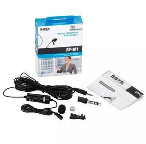 Microfone De Lapela Para Celular Boya By-m1 Omnidirectional