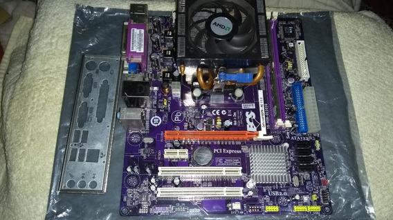 Kit Phenom 9650 X4 Ecs Geforce 6100pm M2 2gb Ram
