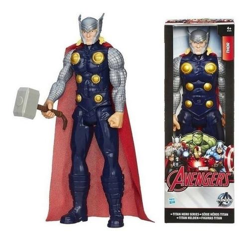 Figura Muñeco De Thor 30 Cm Titan Hero Marvel Hasbro