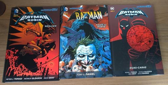 Batman & Robin: Réquiem E Duas-caras E Batman Faces Da Morte