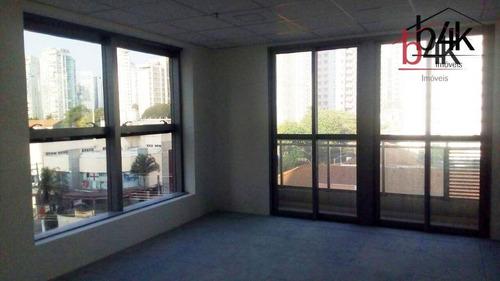 Sala Para Alugar, 35 M² Por R$ 1.500,00/mês - Brooklin - São Paulo/sp - Sa0091