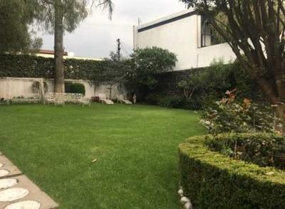 Casa De Lujo En Cascada, Jardines Del Pedregal