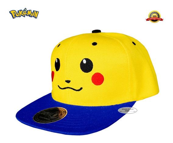Promocion 1 Pikachu Gorra Pokemon Anime Ash Kawaii Cosplay
