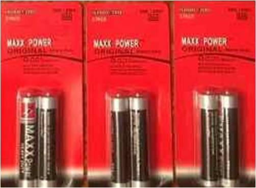Pilas Baterías Maxx Power Aaa