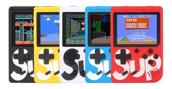 Mini Video Game Portátil Retrô 400 Em 1 Super Mario, Street