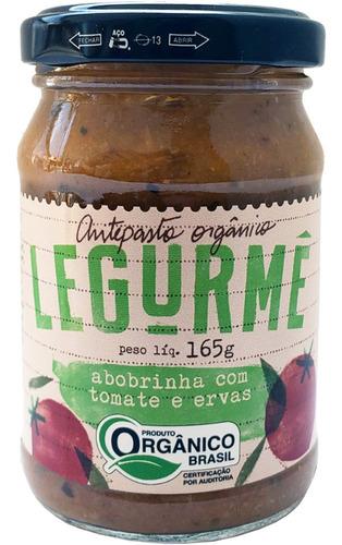Antepasto Org Abobrinha Com Tomate E Ervas 165g
