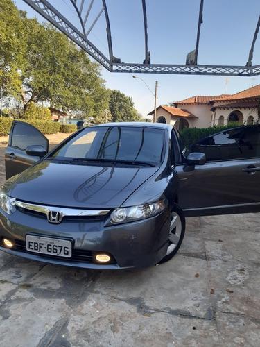 Honda Civic 2008 1.8 Exs Flex Aut. 4p