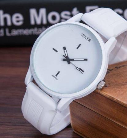 Relógio De Pulso Feminino Miler Quartzo Fashion Bonito