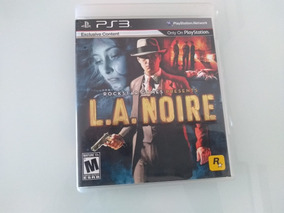 Jogo Ps3 L.a. Noire - Conteúdo Exclusivo E Completo