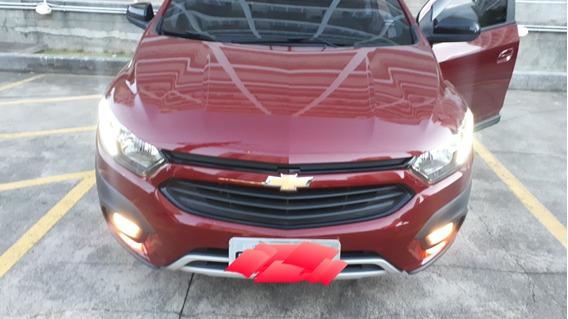 Chevrolet Onix Activ Automático 1.4 2018 Vermelho Carmin