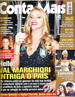 Revista Conta Mais 583/2012 - Roberto Carlos - Val Marchiori