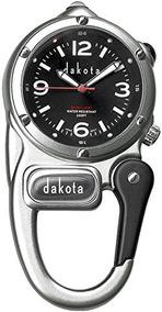 Dakota Reloj Company Mini Clip Con Microlight Dial