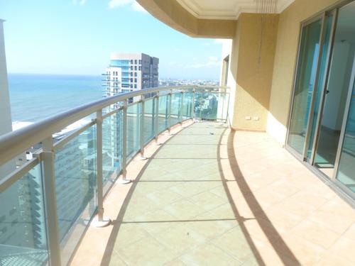 Imagen 1 de 14 de Malecon Center Vista Al Mar Dos  / Tres Habitaciones 199,000