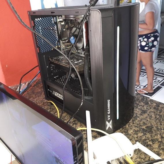 Pc Gamer Pro Hard. Monitor E Perifericos