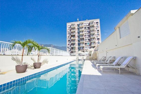 Apartamento Para Venda Em Rio De Janeiro, Maracanã, 2 Dormitórios, 1 Suíte, 2 Banheiros, 1 Vaga - Jjtjcprm_2-1003614