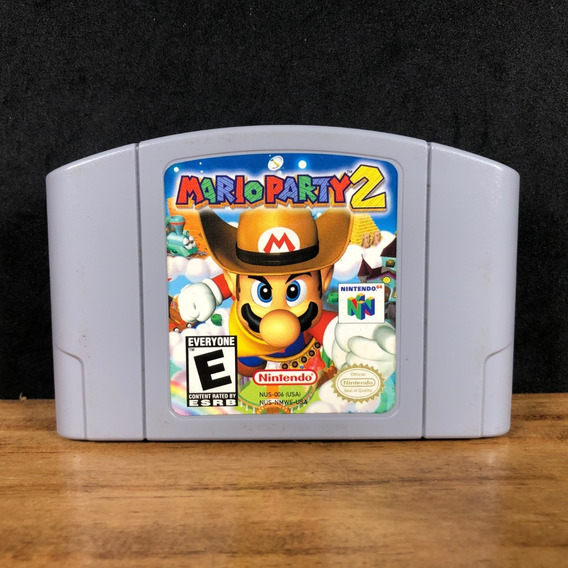 Mario Party 2 100% Original Colecionador P/ Nintendo 64 N64!