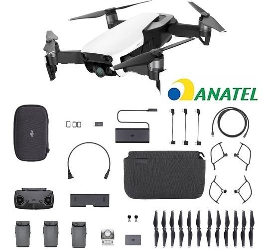 Drone Dji Mavic Air Fly More Combo/ Homologado Pela Anatel
