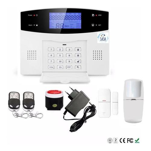 Kit Alarma Domiciliaria Inalambrica Gsm Español Wl App Zd351