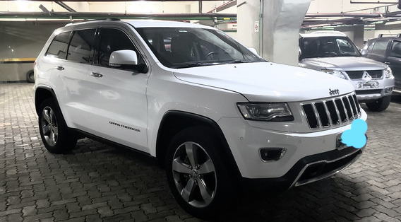 Jeep Grand Cherokee Limited 3.6 Gasolina 2014 Branca