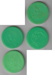 Tazo Da Coleção Elma Chips Tiny Toon Master Tazos
