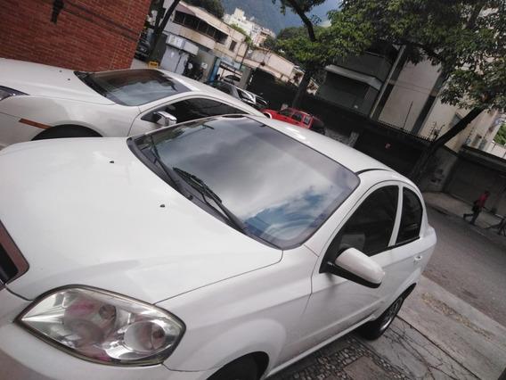 Chevrolet Aveo Lt Motor 1.6 Blanco 4 Puerta