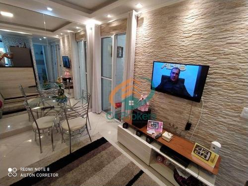 Imagem 1 de 25 de Apartamento Com 2 Dormitórios À Venda, 47 M² Por R$ 230.000,00 - Jardim Silvestre - Guarulhos/sp - Ap4798