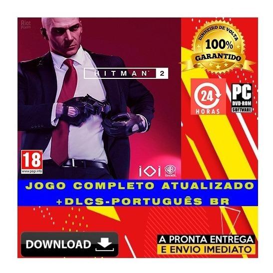 Hitman 2 Gold Edition + Todas Dlcs + Brinde - Digital