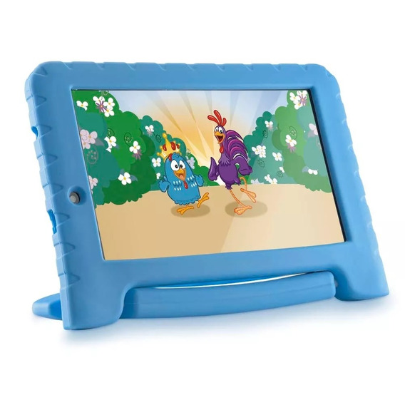Tablet Multilaser Galinha Pintadinha Azul 8gb Wifi 7'&#3