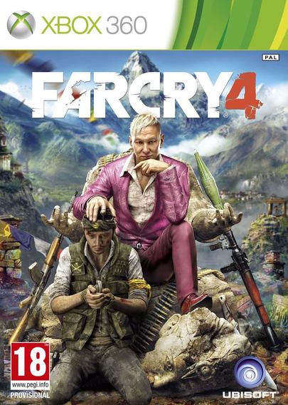 Jogo Novo Lacrado Da Ubisoft Far Cry 4 Para Xbox 360