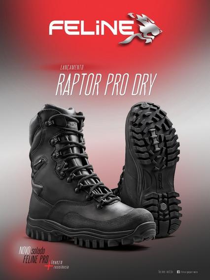 Bota Tática Feline Raptor Dry Pro Novo Modelo !!!!