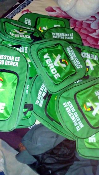 Mochilas Del Partido Verde Ecologista