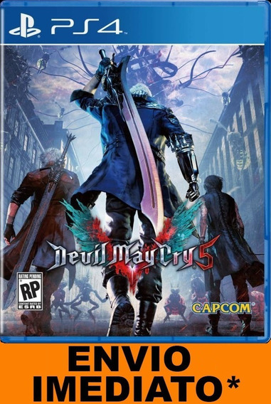 Devil May Cry 5 Ps4 Digital 1 Aluguel 15 Dias