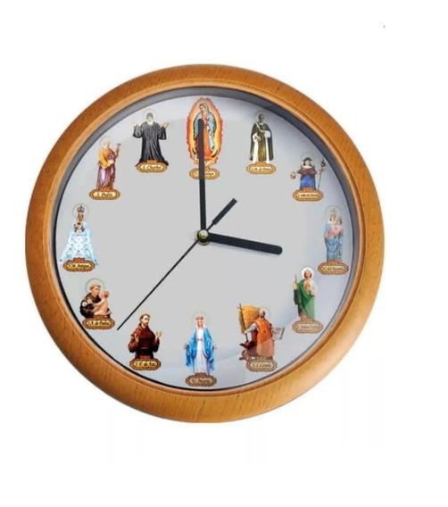 Reloj De Pared Con Sonidos Mis Santos Queridos