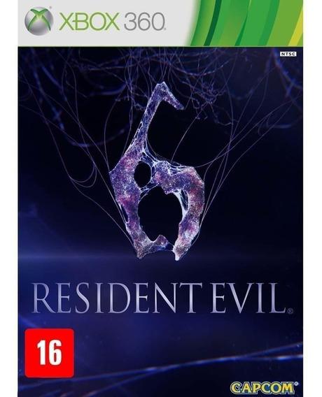 Resident Evil 6 Xbox 360 Mídia Física Novo Lacrado