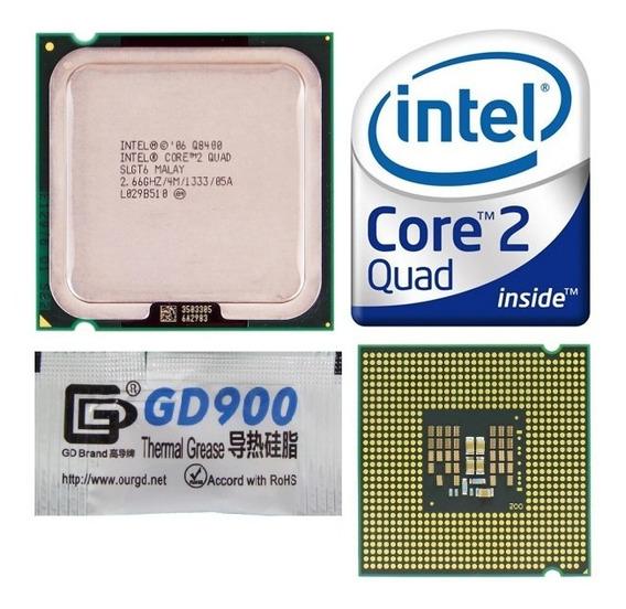 Processador Core 2 Quad Intel Q8400 4m + Gd900 Seminovo