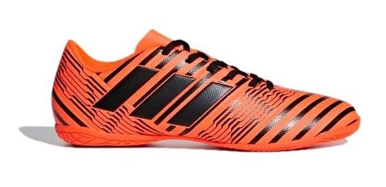 Tenis adidas Hombre Naranja Nemeziz 17.4 Indoor S82475