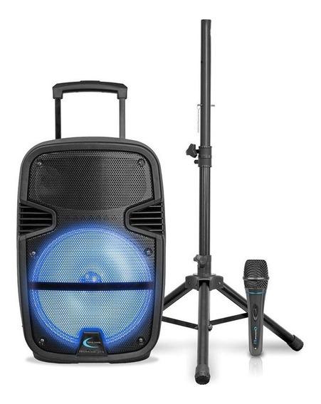 Corneta Technical Pro Pb14pkg Trípode Y Micrófono Tienda F