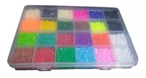 Set Hama Beads Mini 24 Colores