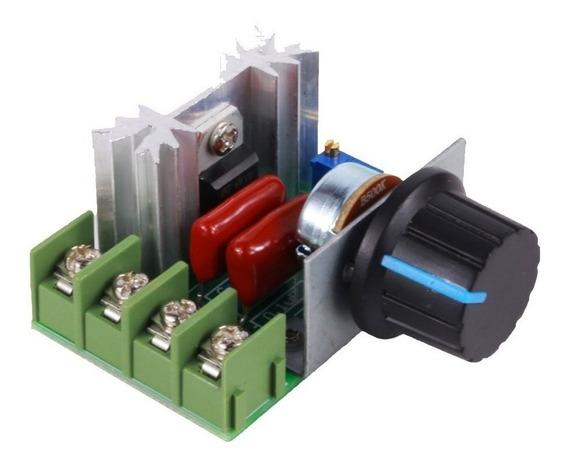 Regulador De Velocidad Variador Dimmer Scr Potencia 2000w 220v