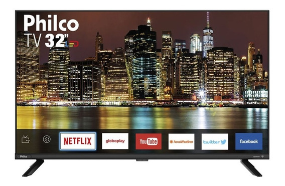 Smart Tv Led Hd 32 Polegadas Philco Ptv32g60snbl Pix90