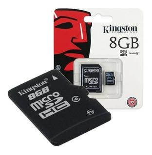 Memoria Micro Sd 8gb Kingston 100% Original Clase 4