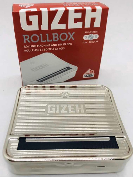 Rolling Box Gizeh N1 70 Mm Metálica Local Once