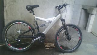 Bicicleta Pacific De Aluminio, Rodado 26 De 24 Velocidades