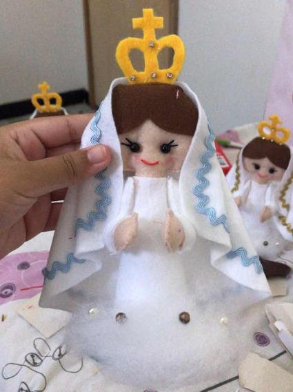 Kit 15 Lembrancinhas Nossa Senhora De Fátima