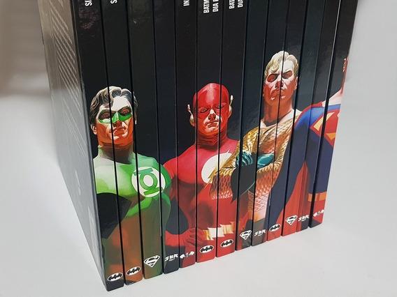 13 Edições: Coleção Graphic Novels Da Dc Comics (eaglemoss)