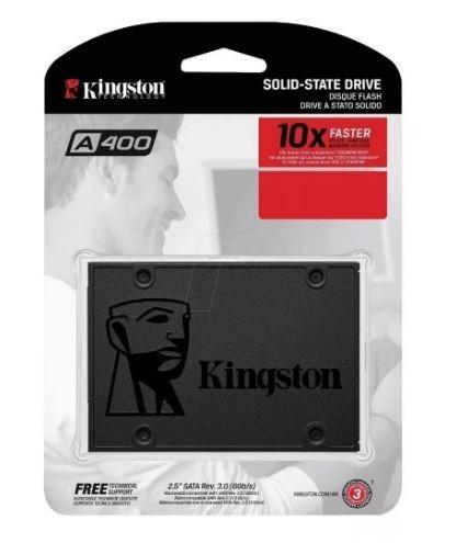 Ssd Kingston A400 2.5 240gb Sata I I I 350mb Sa400s37/240gb