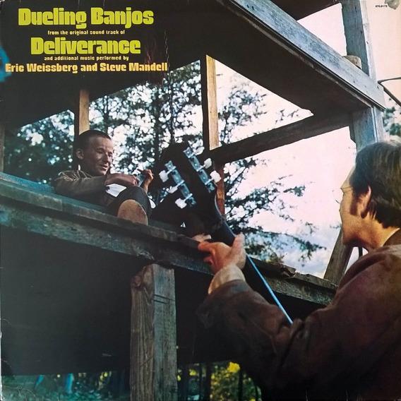 Lp Dueling Banjos 1978 Trilha Sonora Filme Deliverance Vinil