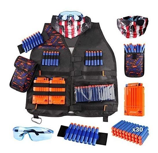 Uwantme Kit De Chaleco Táctico Para Nerf Guns Nstrike Elite