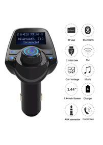 Transmissor Veicular Bluetooth Mp3 Usb /cartão Sd / Celular